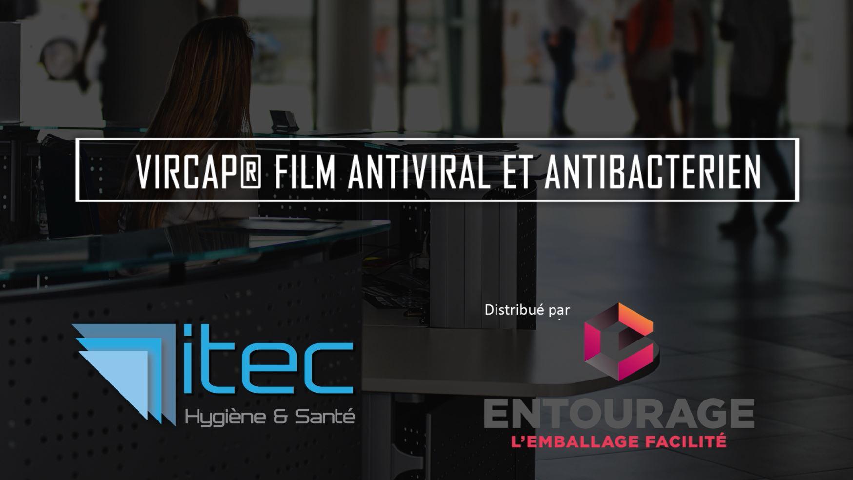 Vircap film antiviral antibactérien